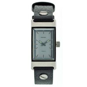 NWT Vintage Diesel DZ1002 Thin Black Wrist Watch